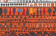 Geoff McFetridge's Site Fence Mural