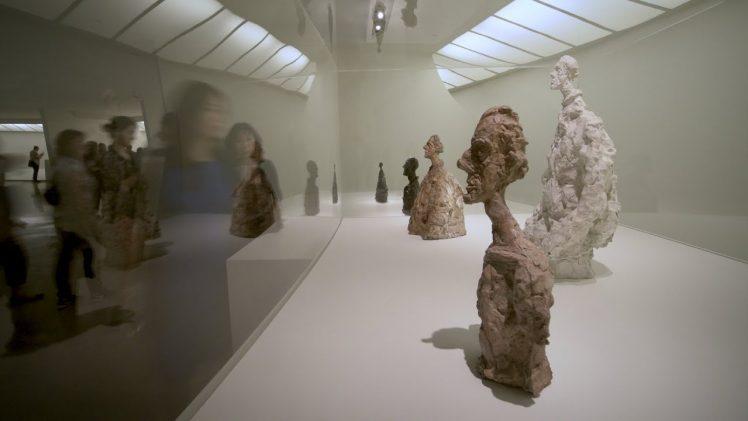 """Mount Maker Derek DeLuco on Installing """"Giacometti"""""""