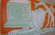 Keith Haring at the Walker Art Center (1984)