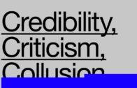 Superscript 2015 Panel: Credibility, Criticism, Collusion